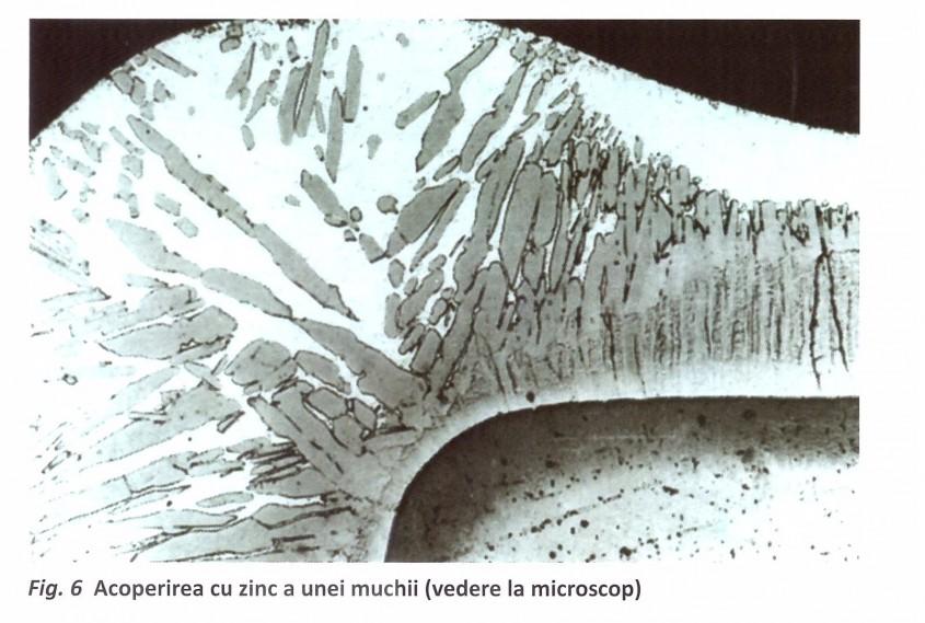 Protecţia catodică și protejarea muchiilor împotriva coroziunii pieselor metalice