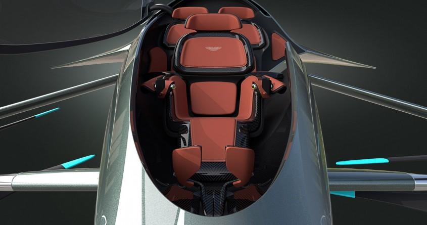 Aston Martin prezintă o mașină zburătoare - de lux, evident
