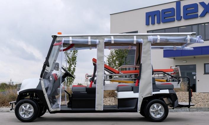 """Ambulanţă electrică transport pacienţi model """"MELEX-468-Ambulance"""""""