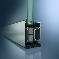 Profil din aluminiu pentru usa - Schüco ADS 75.SI