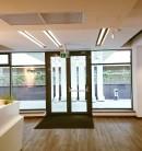 Izolare fonica si rezistenta la foc pentru pereti si plafoane in cladirea de birouri FORTECH din