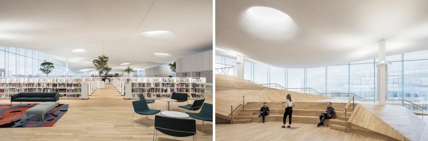 Finlanda sărbătorește centenarul cu o bibliotecă ultramodernă