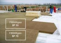 Vata bazaltica pentru acoperis tip terasa FIBRANgeo - BP 80