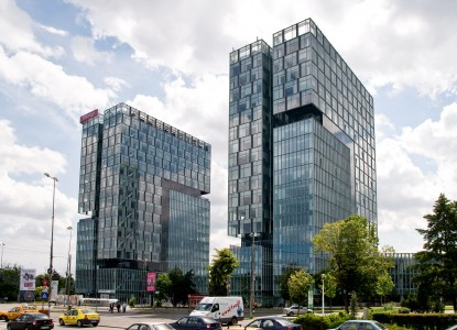 Turnurile City Gate  Bucuresti SPECTRUM INOVATIV & INDUSTRIES