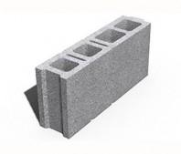 Elemente de zidarie din beton pentru pereti de compartimentare