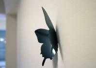 Fluturi 3D Negri - WALPLUS