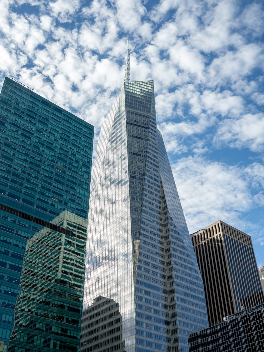 Bank of America Tower, New York, 2009