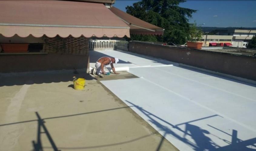 Hidroizolaţie pentru terase, acoperișuri plane și suprafețe mari – G-TEX SUPREME GEODRY