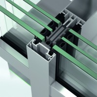 Sistem de profile din aluminiu pentru pereti cortina - Schüco FWS 50