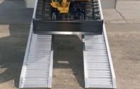 Rampa de incarcare pentru utilaje cu roti si cauciucuri - Metalmec M070 / M075 / M080