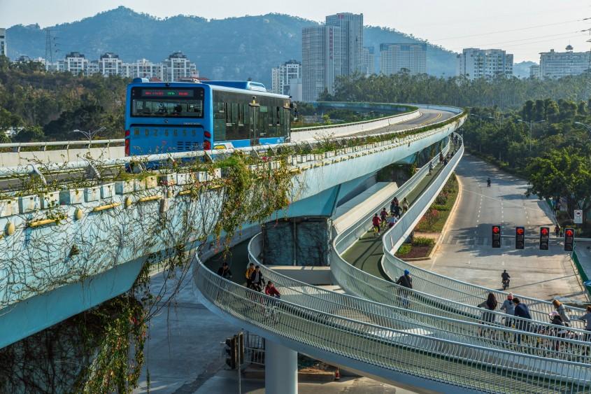 2. Cea mai lunga pista pentru biciclete suspendata din lume