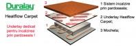 Underlay pentru mocheta - Underlay Contract (HC/U) - Underlay Heatflow Carpet