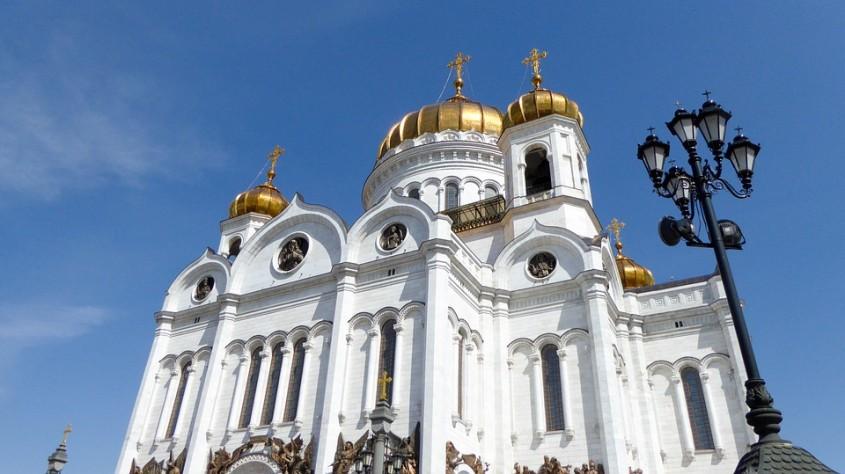 Catedrala Hristos Mantuitorul din Moscova, Rusia