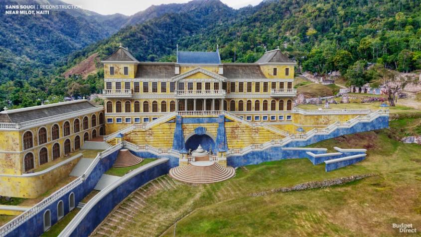 Palatul Sanssouci, Haiti