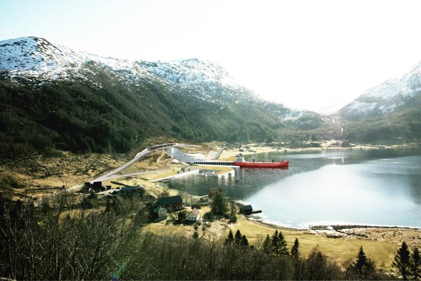 Primul tunel pentru nave de mare tonaj din lume