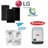 Kit fotovoltaic prosumator on grid 5,4 kWp LG NEON H Monofazat