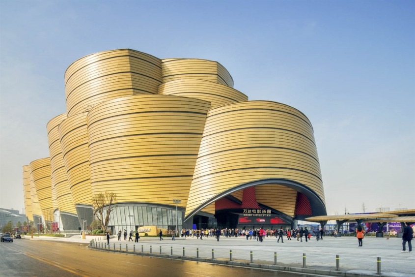 Parcul Tematic Wanda Movie, Wuhan - Stufish Entertainment Architects