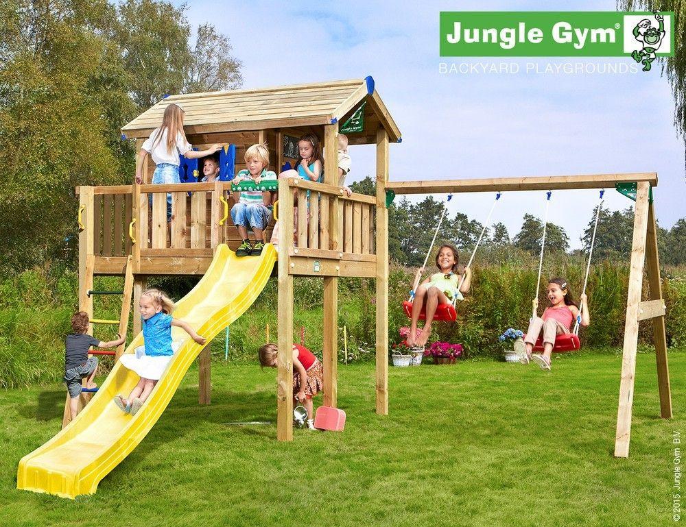 Complex de joaca - JUNGLE GYM PLAYHOUSE + PLATFORMA XL