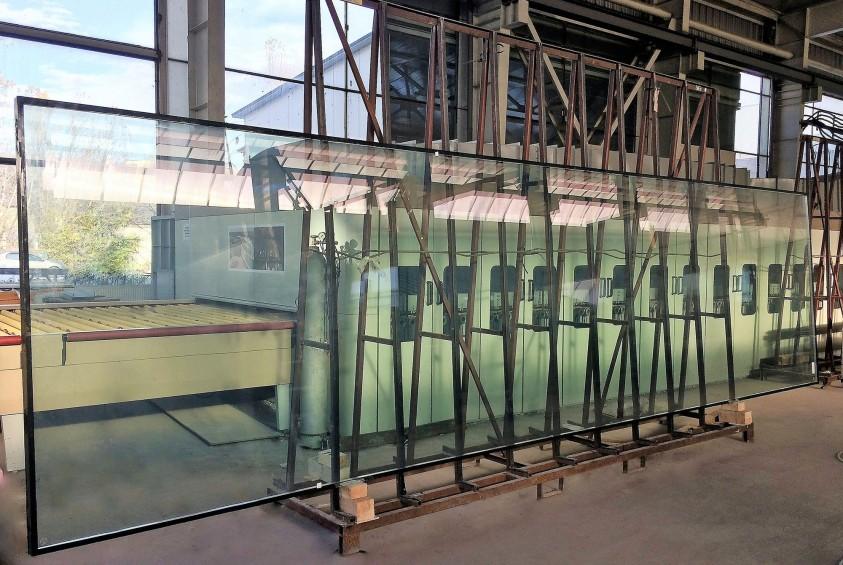 Spectrum - obiectiv nou supermagazin LIDL cu fatada din panouri de sticla dimensiuni agabaritice Bucuresti SPECTRUM