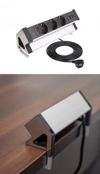 DESK BOX - Priza de birou cu aplicatie universala