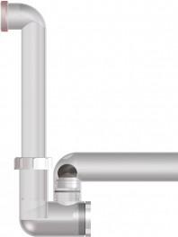 Sifon pentru condens cu tuburi transparente - HL136NT