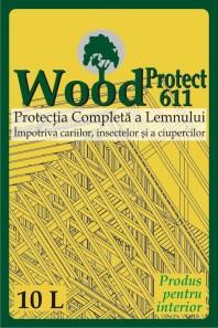 Tratamente pentru lemn impotriva daunatorilor biologici - WoodProtect 611