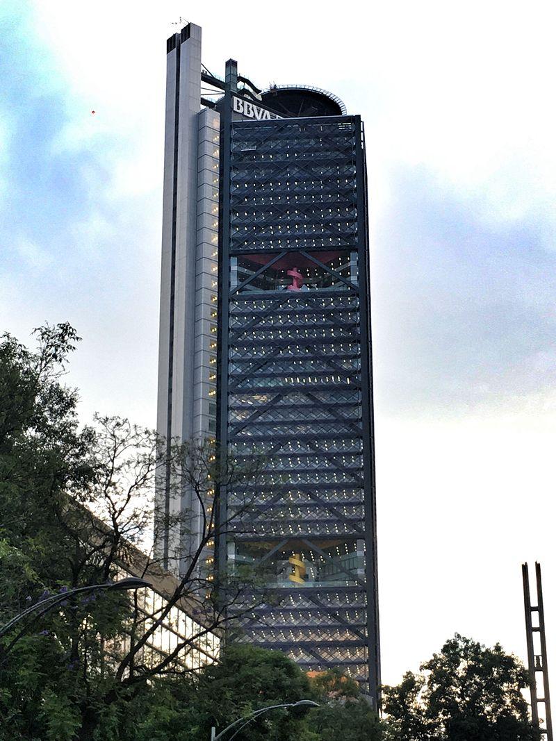 Torre BBVA Bancomer din Mexico City - de LegoRogers