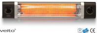 Incalzitor Veito CH2500TW 2,5 KW, electric, infrarosu, terasa, interior-exterior, IP24