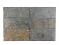 Ardezie Multicolora Noisette Natur si Daltuita 15 x 30cm - Acoperis / Vertical - ARD-124