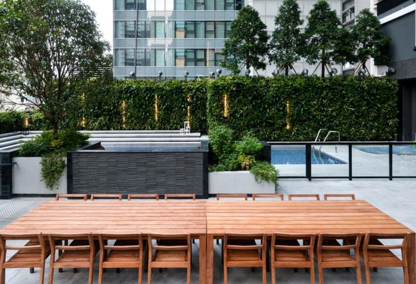 Un imobil de locuințe din Hong Kong construit pentru boemii urbani