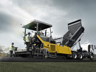 Finisor de asfalt pe senile - Volvo ABG5820