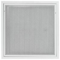 Difuzor perforat cu portfiltru si filtru pentru montaj in tavan casetat - BQF60-SMF