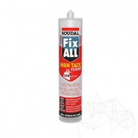 Adeziv ardezie flexibila - Soudal FIX ALL CRYSTAL- 290ml (Transparent) Weber Saint Gobain Romania  APN-1031