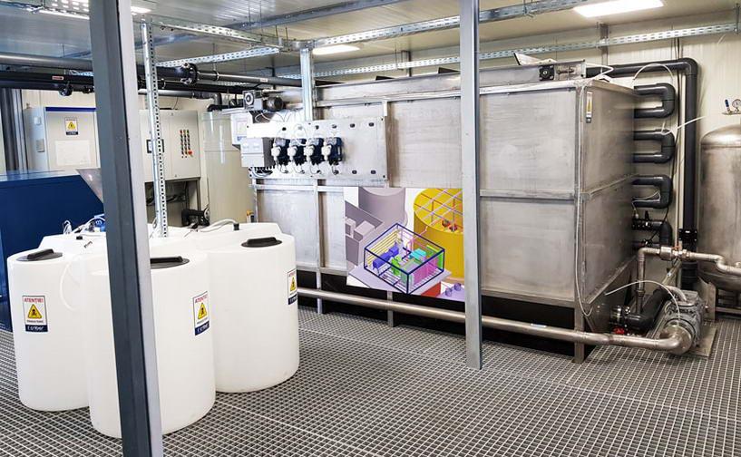 Statii de epurare pentru tratarea apelor uzate industriale