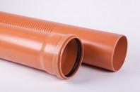 Sistemul de drenaj cu țevi rigide cu fante din PVC cu perete compact