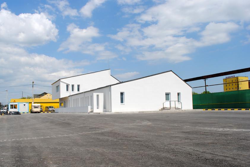 Vestiare pentru angajatii fabricii de pulberi metalice - Buzau 01.16  Buzau AsiCarhitectura