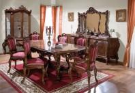 Mobila sufragerie lemn masiv Cleopatra Lux