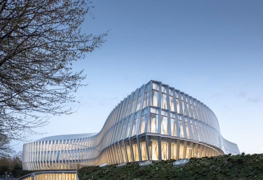 Casa Olimpica, noul sediul al Comitetul International Olimpic, Lausanne (Elvetia) - 3XN