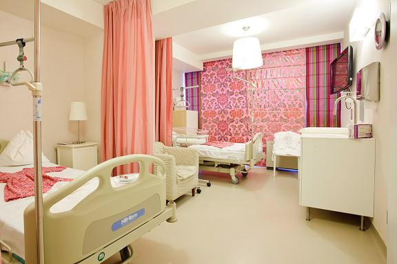 Maternitatea Regina Maria - interiorul unui salon  Bucuresti SAINT-GOBAIN CONSTRUCTION PRODUCTS ROMANIA - DIVIZIA RIGIPS