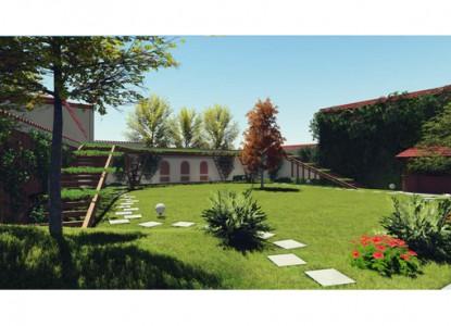 Amenajare pergole din lemn in gradina existenta  Bucuresti AsiCarhitectura