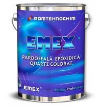 Pardoseala Epoxidica Decorativa cu Cuartz Colorat EMEX QUARTZ, Gri