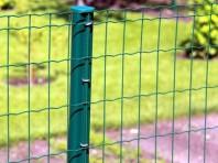 Jardifence - plasa sudata zincata si acoperita cu PVC