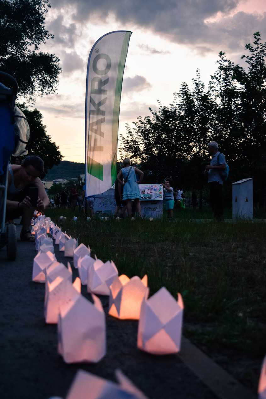 FAKRO la Festivalul luminii din Cluj-Napoca