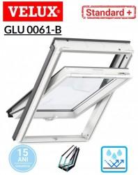Fereastra de mansarda poliuretan Velux GLU 0061 B Standard Plus- maner jos