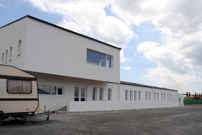 Vestiare pentru angajatii fabricii de pulberi metalice - Buzau 01.26  Buzau AsiCarhitectura