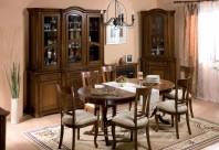 Mobila sufragerie lemn masiv Rafael