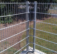 Stalpi metalici rectangulari