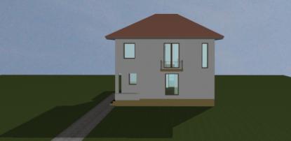Extindere, consolidare, etajare si recompartimentare locuinta existenta  Chitila, Ilfov ArhiProPub