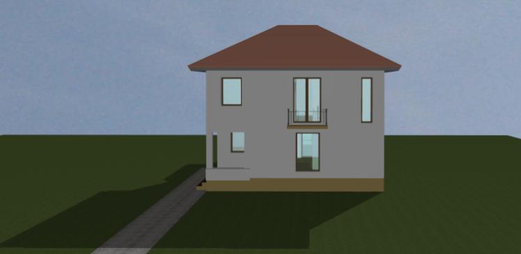 Extindere, consolidare, etajare si recompartimentare locuinta existenta ArhiProPub