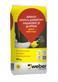 Adeziv pentru polistiren expandat si grafitat - weber P39 max2
